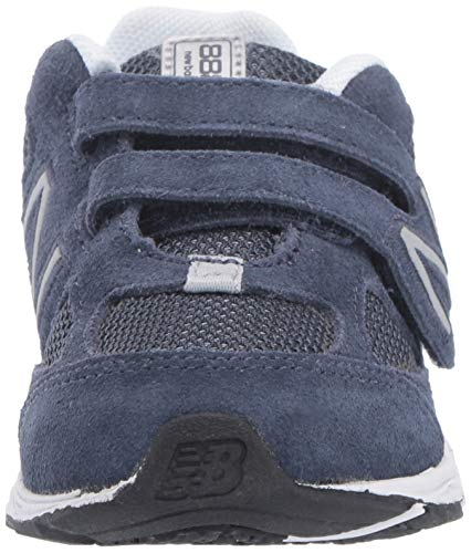 New Balance Boys' 888v2 Hook and Loop Running Shoe, Navy/Grey, 2 W US Infant by New Balance (Image #4)