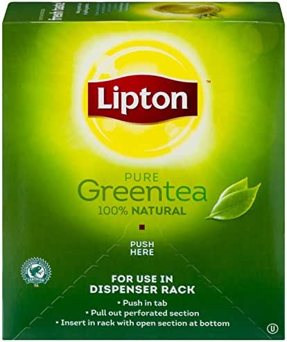 Lipton Green Tea, 100 Percent Natural 100 ct