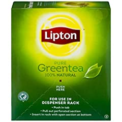 Pure and simple, our all-natural green tea is made of the finest leaves from around the world. Clean and delicious, make this tea part of your daily routine. Plus, green tea naturally contains tea flavonoids. Lipton tea is 100% natural. No preservati...