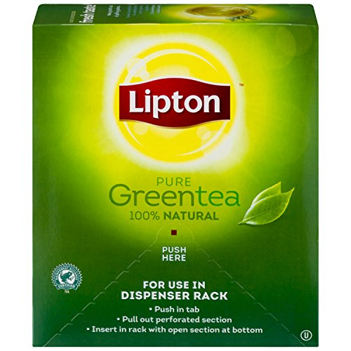 Lipton Green Tea, 100 Percent Natural 100 -
