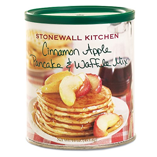 Stonewall Kitchen Cinnamon Apple Pancake Mix, 16 Ounce Can