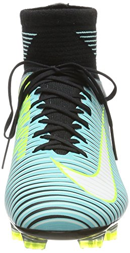Nike Women's Mercurial Veloce 3 Dynamic Fit (Fg) Football Boots Blue (Light Aqua/White-black-volt 400) Un9f8O