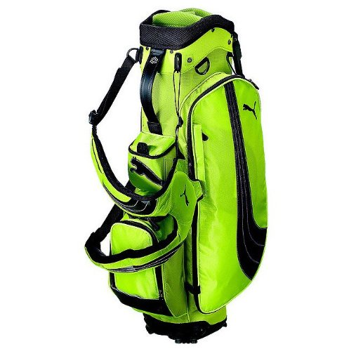 Puma Formation Stand Golf Bag (Sharp Green 9-Inch Top)