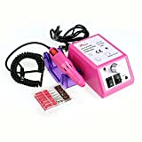 Garain Multi Purposes Professional Electric Nail File Drill, 10W Manicure Pedicure Machine Tool Kit (Pink, US Plug) Reviews