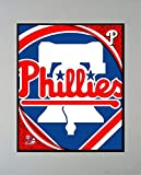 Encore Select 900-33 MLB Philadelphia Phillies Logo Matted Sports Memorabilia, 11-Inch by 14-Inch