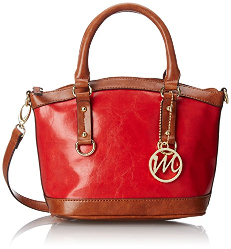 emilie-m-kimberley-two-tone-small-dome-satchel-top-handle-bag-red-one-size