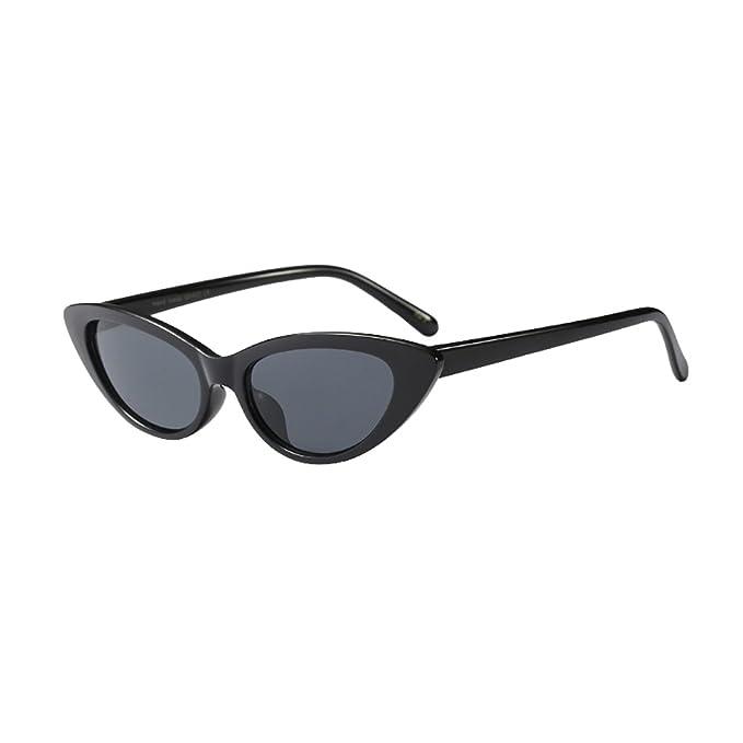 Inlefen Gafas de sol pequeñas Vintage Retro Extra estrecho ...