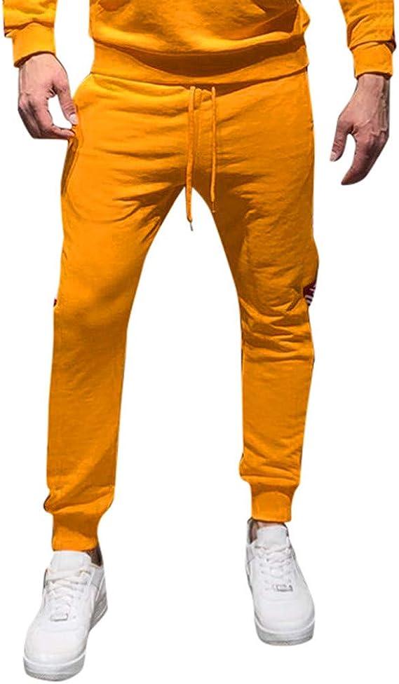 JiaMeng Pantalones Casual Gimnasio Gimnasio Chándal Pantalones ...