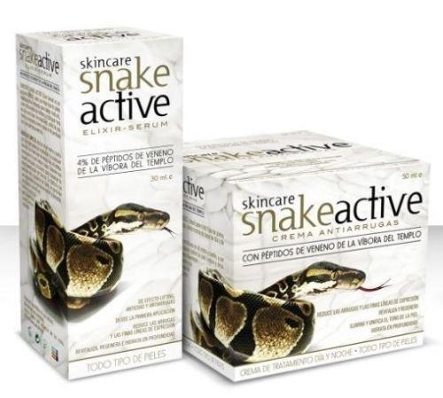 Crema veneno de serpiente