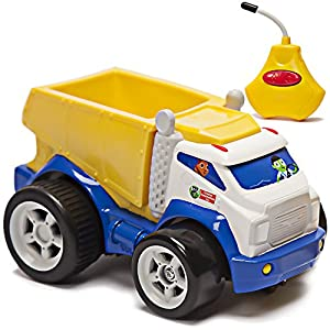 Kid Galaxy PBS Kids Remote Control Dump Truck. Toddler RC Construction Toy For Boys & Girls Age 2, 3, 4 & Up, Yellow Juguetes Camion De La Basura Construccion. From Co. Behind Wild Kratts Vehicle - 515kXP0SfvL - Kid Galaxy PBS Kids Remote Control Dump Truck. Toddler RC Construction Toy for Boys & Girls Age 2, 3, 4 & Up, Yellow Juguetes Camion De La Basura Construccion. from Co. Behind Wild Kratts Vehicle