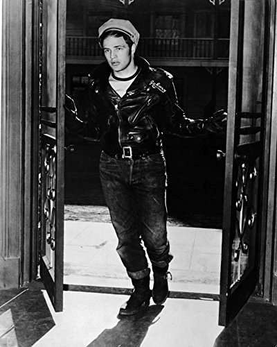 Image Unavailable. Image not available for. Color  Marlon Brando In The Wild  One ... adb8d1d4f41