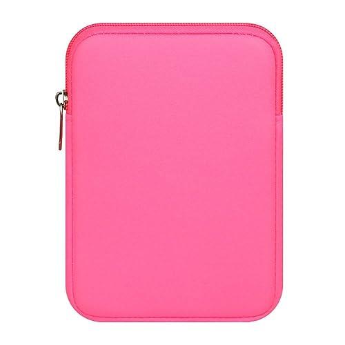 Maletín Con Asa Para Ordenador Portátil Notebook/Ultrabook Tablet De Maleta Bolsa De Transporte/Funda Para Portátiles Para Ipad Rose 9.7 Pulgadas: ...