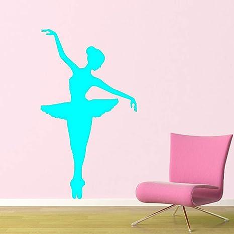 Bailarina Tatuajes de pared Bailarina Bailar Ballet Vinilo ...