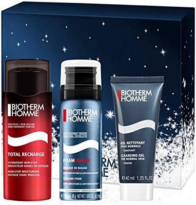 Biotherm Total Recharge Set para Hombre - 3 Piezas: Amazon.es: Belleza