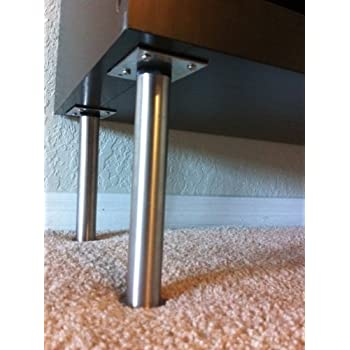 Metal Sofa Legs Furniture Legs Angled Steel Chrome