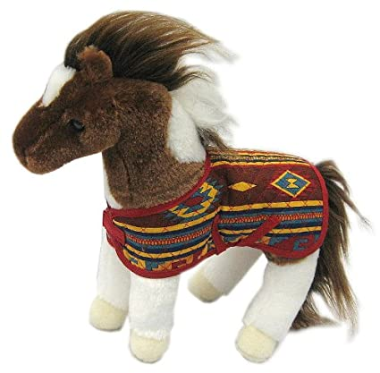 #342 by Douglas Cuddle Toys NATCHES the Plush PAINT HORSE Stuffed Animal