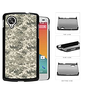Unique Camouflage Army Pattern Design Hard Snap on Phone Case Cover Lg Google Nexus 5 by icecream design