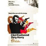 Dirty Harry Clint Eastwood 1971 Movie Poster Masterprint (24 x 36)