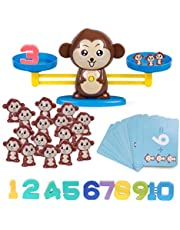Highttoy Children Balance Math Game STEM Learning Toys for Kids(65-Piece Set)
