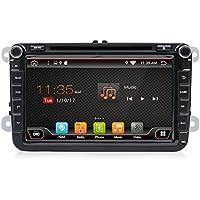 YUNTX - Double Din Radio Android 6.0 Car DVD For Volkswagen Skoda POLO PASSAT CC JETTA TIGUAN TOURAN SHARAN CADDY GOLF Gps Navigation for Car
