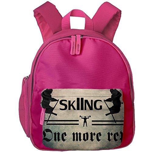 SKI APRES SKI SNOW MOUNTAINS FREESKI TELEMARK Snow Travel Backpack,Emoji Shoulder School Book Bag (The Mountain Telemark Skis)