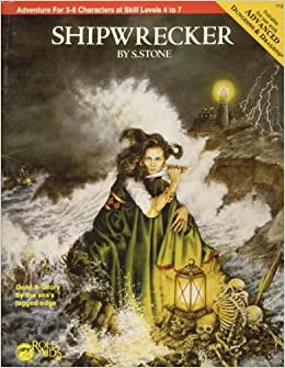 Shipwrecker (Advanced Dungeons and Dragons / Role Aids): Sue Stone:  9780912771113: Amazon.com: Books