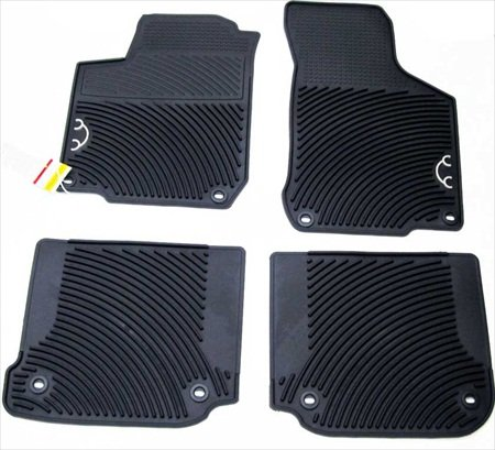 (1998-2010 VW Volkswagen New Beetle Monster Floor Mats Set of 4 GENUINE OEM NEW)