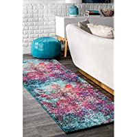 nuLOOM 200ECCR20A-208 Reva Abstract Area Rug, 2 5 x 8