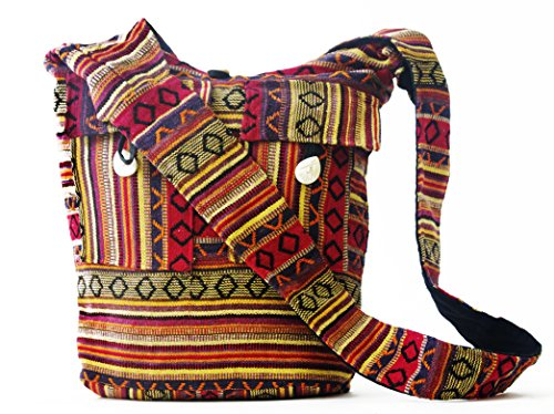GYPSY XXI Handmade Crossbody Shoulder strap bags casual messenger Tote travel Handbags for women girl