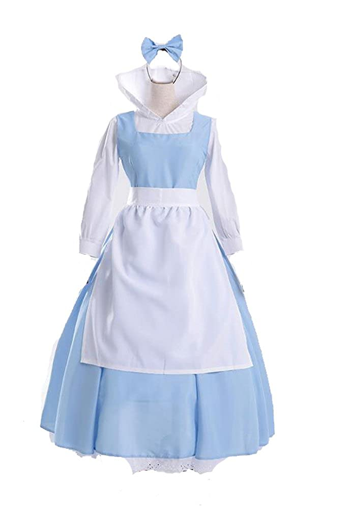 235c77e88f86a Blue Belle Costume For adult or girls ,Sexy and a must have in your costume  colloections! Costume size: S(US6-8),M(US8-10) L(US10-12) Color:as show in  the ...