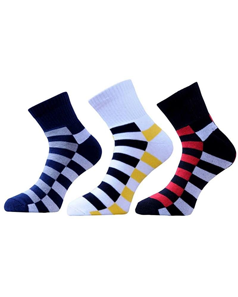 Emperal Unisex Cotton Ankle Socksemperal Socks010multicolourpack