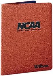 Wilson NCAA Basketball Leather Folder Brown