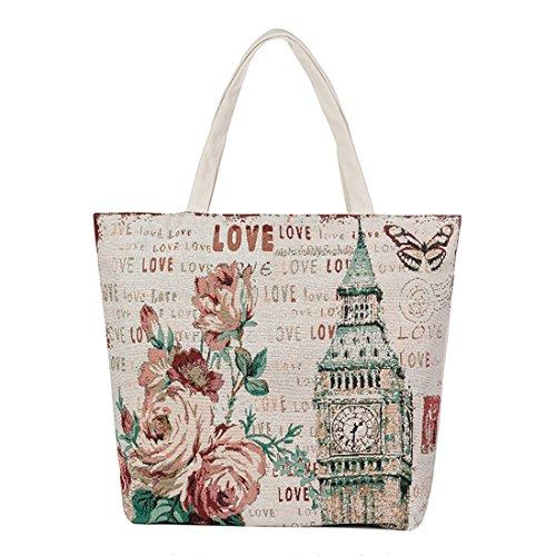 Multicolor7 Pintura Diseñador de Crossbody mensajero buho bolsa Lona bolso bolsos de mujeres Luckywe moda dSOYqgww