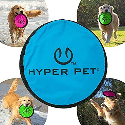 Chuckit Rugged Flyer Floats Water Designed Flight Sturdy Frisbee Disc Dog Toy