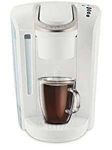 Keurig K-Select Single Serve K-Cup Pod Coffee Maker, With Strength Control and Hot Water On Demand, Matte White