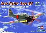 Hobby Boss Zero Fighter Type 52 Airplane Model Building Kit