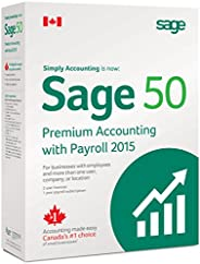 Sage 50 Premium with Payroll Accounting 2015 Canadian Edition
