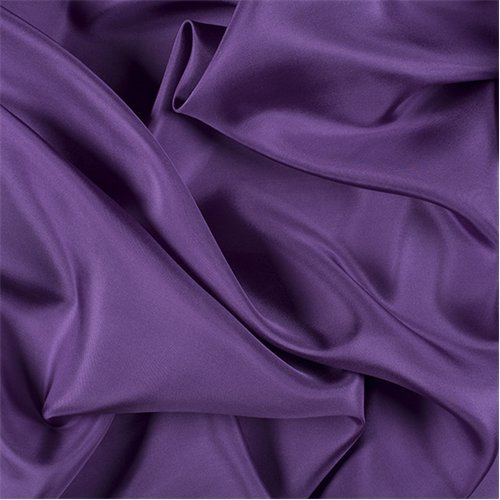 Chine Yarns - Violet Silk Crepe de Chine, Fabric By the Yard