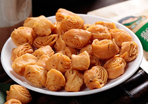 Chinese Snacks Fried Pastries Crisp and Delicious 17.6oz (green onion)