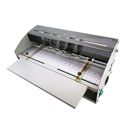 - PROMOTOR Electric Book Cover Creasing Machine 110V Card Paper Creasing Machine Folding Dotted Line Cutting Scoring Scorer Creaser