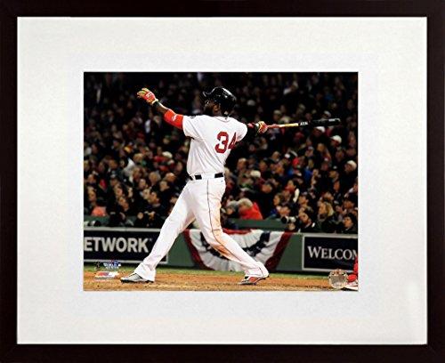 "(Boston Red Sox David Ortiz ""World Series HR"" 8x10 Photograph (SGA UnderFifty Series) Framed)"