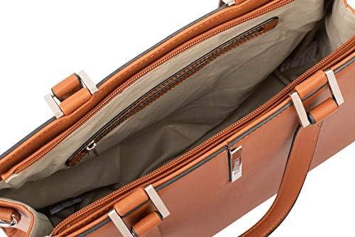Flora & Co Paris F9521 Large A4+ blu navy maniglia superiore Hanbag borsa a tracolla borsa borsa a tracolla scuola collage adatto grande A4+ borsa inclusa