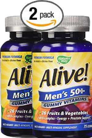 count Natures Way Alive Multi Vitamins