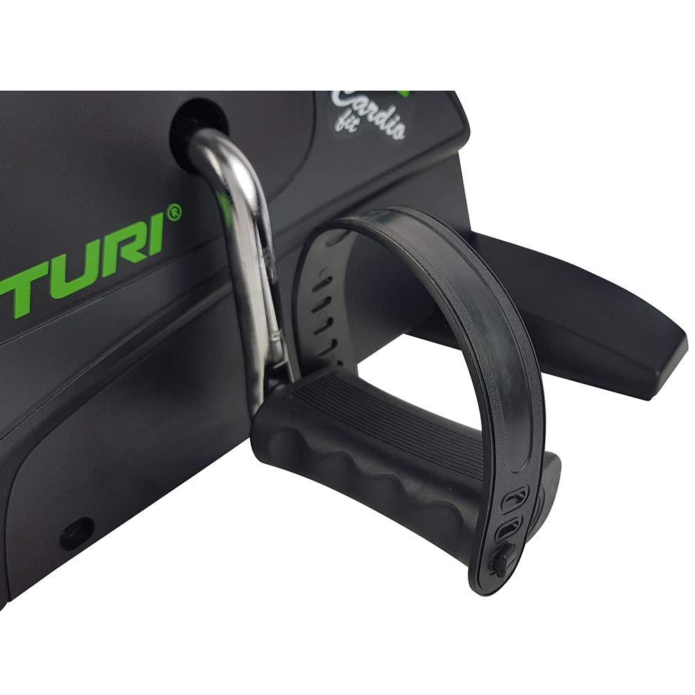 computadora de Entrenamiento Tunturi Cardio Fit M30 Mini bicicleta est/ática con pedales para entrenamiento de brazos y piernas Mini Bike