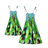 A Set of Mother-daughter Bohemia Style Beach Dress