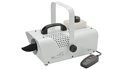 Máquina para nieve QTX SW, pequeña, 600 W, 5 m/min,