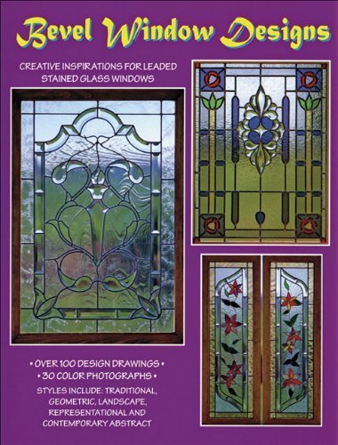Bevel Window Designs - 100 Stained Glass Patterns by Randy Wardell & Judy Huffman (1986-05-15) - Stained Glass Angel Pattern