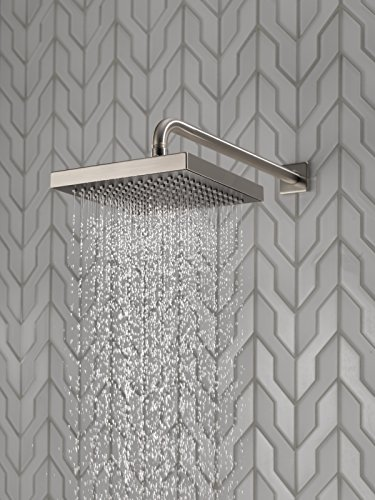 Buy delta shower heads brushed nickel
