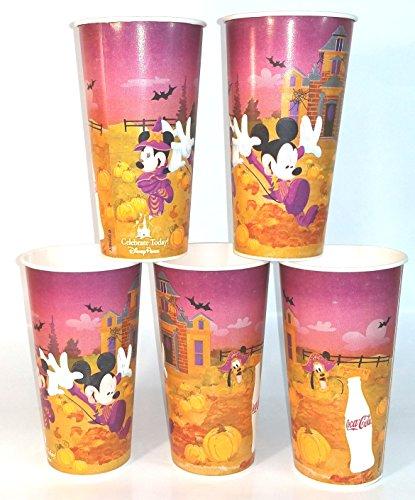 Disneyland Happy Halloween Paper Cups 2009 Set of