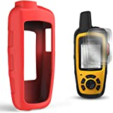 TUSITA Case with Screen Protector for Garmin inReach SE+ Plus/Explorer+ Plus Satellite Tracker,Replacement Silicone Protective Skin Cover